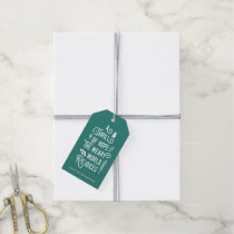 A Thrill of Hope | Teal Gift Tags