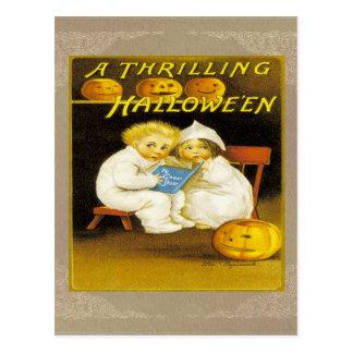 A Thrilling Halloween Postcard