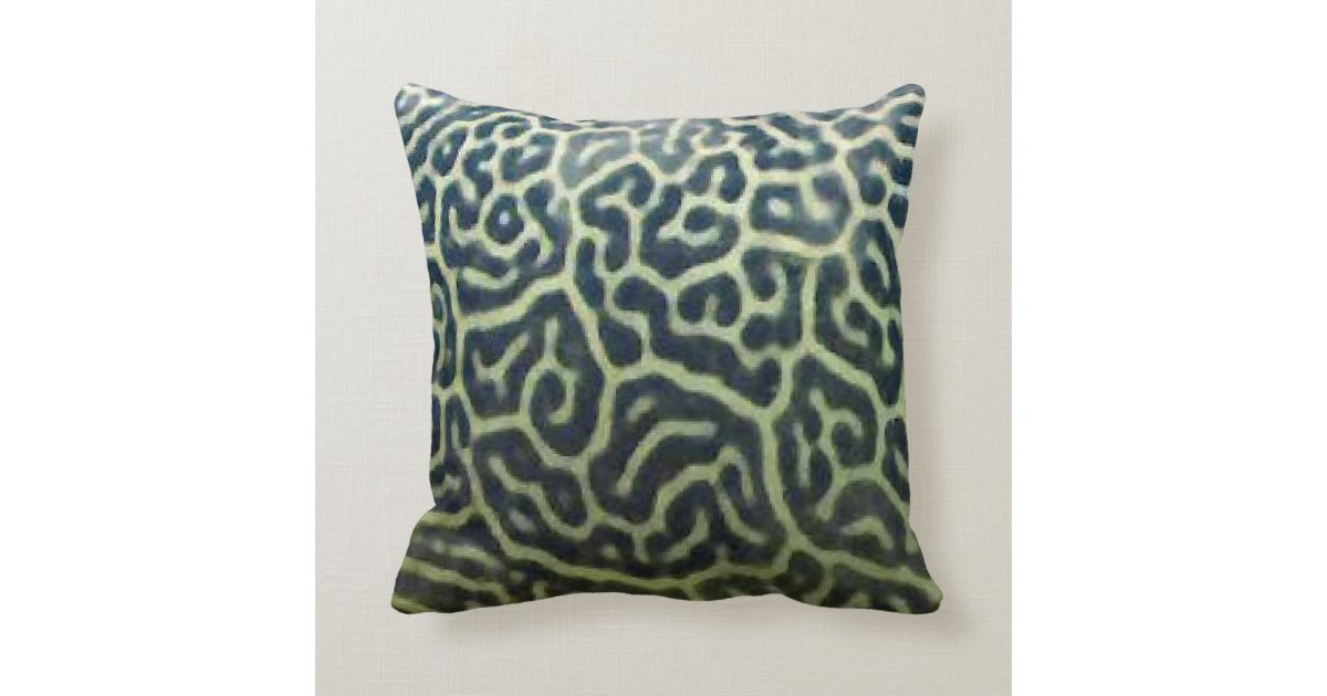Animal Pillow Patterns Free : A throw pillow with animal pattern Zazzle