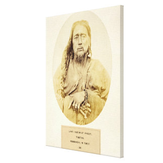 A Tibetan Lama in Pemianchi, Tibet, 19th century ( Stretched Canvas Prints