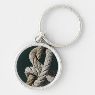 A Tied Knot On A Jetty | Portugal Keychain