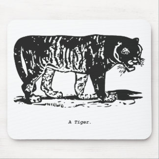 A Tiger. Mouse Pad