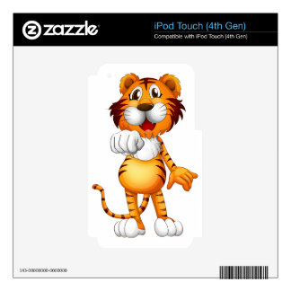 A tiger skin for iPod touch 4G