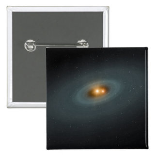 A tight pair of stars and a surrounding disk button