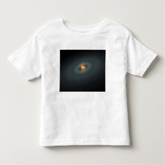 A tight pair of stars and a surrounding disk t-shirt