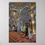 A Tile Paradise; Sokollu Mehmet Pasha Mosque Posters