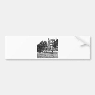 A Timber House in the Berkeley Hills Bumper Sticker