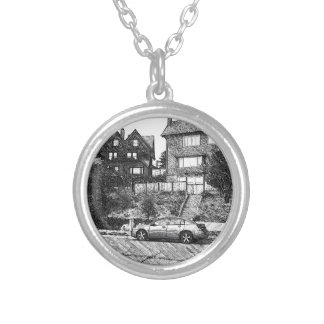 A Timber House in the Berkeley Hills Custom Necklace