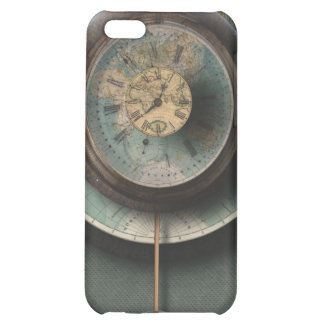 A Time and Place Steampunk Clock World Map iPhone 5C Cover