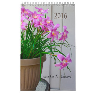 A Time for all Seasons 2016 Calendar