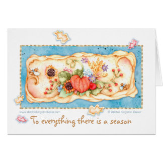 A time for Thanksgiving Card
