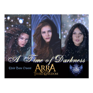 A Time of Darkness - postcard
