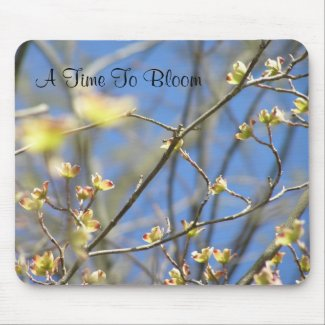 A Time To Bloom Mouse Mats