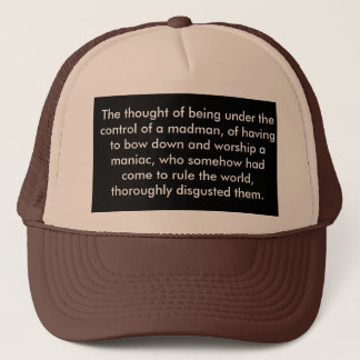 'A Time to Run (quote)' Hat