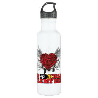 A Timorese Stole my Heart Stainless Steel Water Bottle