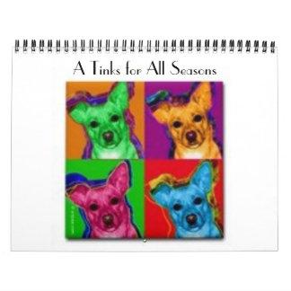 A Tinks for All Seasons Calendar