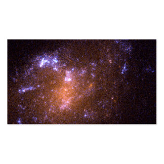 A Tiny, Youthful Spiral Galaxy, ESO 418-008 Business Card Template