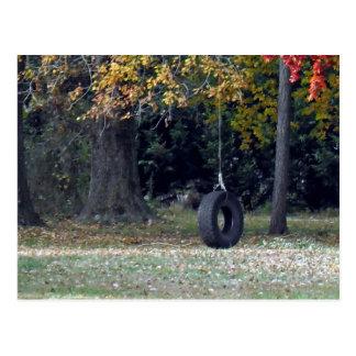 A Tire Swing Postcard