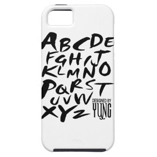 A to Z Alphabetic Letters Phone Case