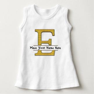A to Z Alphabets Baby Sleeveless Dress
