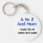 A to Z and More Key chain