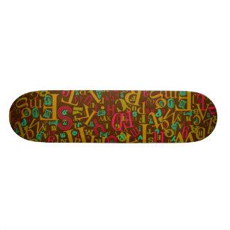 A to Z Skateboard