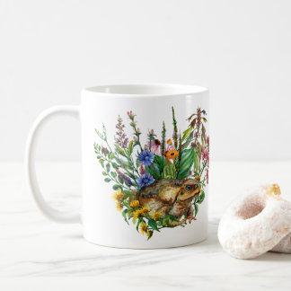 A Toad Among The Flowers  Mug