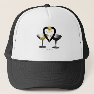 """""""A Toast For Soulmates""""* Trucker Hat"""