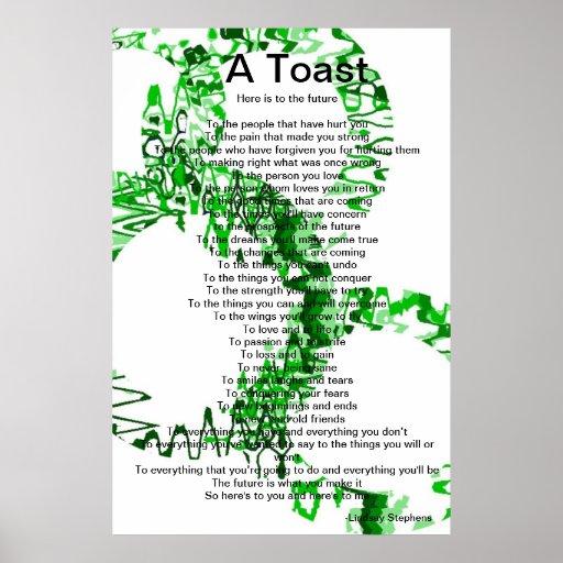 A Toast Print