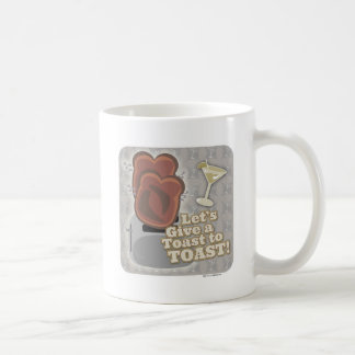 A Toast to Toast 2-sided Coffee Mug