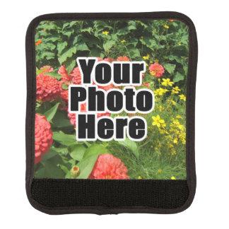 A todo color de encargo de la foto personalizada cobertura para asa de maleta