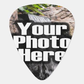 A todo color de encargo de la foto personalizada plumilla de guitarra