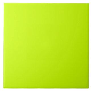 A todo color exclusivo del amarillo fluorescente azulejo cuadrado grande