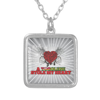 A Togolese Stole my Heart Personalized Necklace