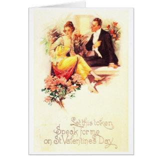 A Token of My Love Card