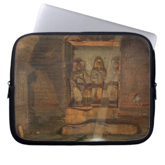 A Tomb at El-Kab, one of 24 illustrations produced Laptop Sleeve