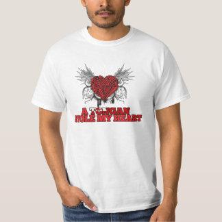 A Tongan Stole my Heart T-Shirt