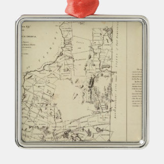 A Topographical Map Christmas Tree Ornament