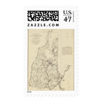 A Topographical Map Postage