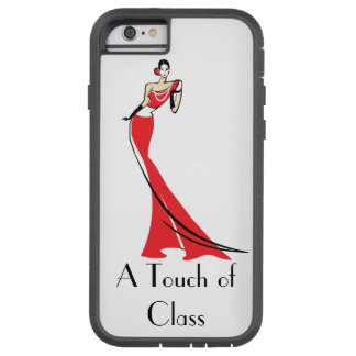 A TOUCH OF CLASS LADY iPHONE 6 TOUGH EXTREME CASE