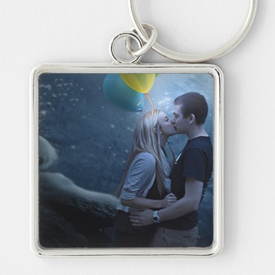 A Touch of Color Keychain