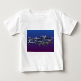 A touch of frost - landscape baby T-Shirt