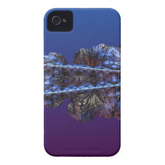 A touch of frost - landscape iPhone 4 cover