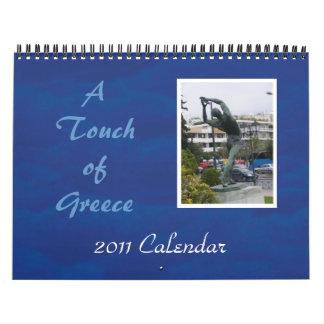 A Touch of Greece Wall Calendar