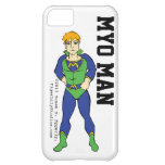 """""""A Touch of Humor"""" Myo Man iPhone 5C Cover"""