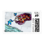 A Touch of Light Postage Stamp