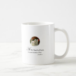A Touch of Love Classic White Coffee Mug