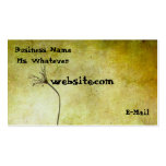 A Touch Of Nature Double-Sided Standard Business Cards (Pack Of 100)