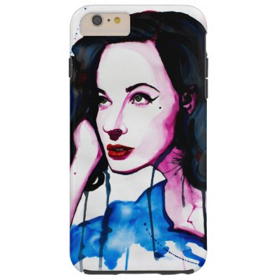 A Touch of Noir Tough iPhone 6 Plus Case