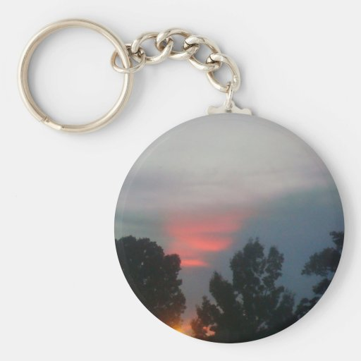 A touch of red. keychain